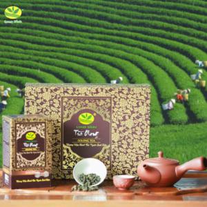 Hộp trà quà tặng Ô long cao cấp