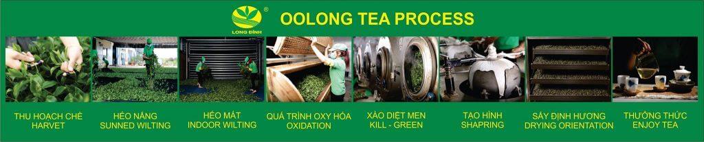 Qui trình sản xuất trà Ô long