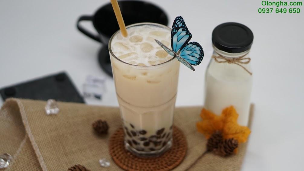trà sữa ô long trà trái cây