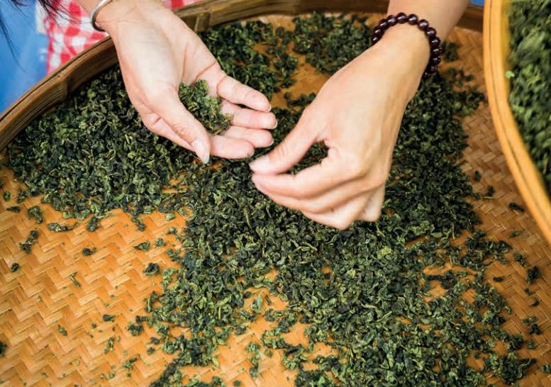 Công đoạn làm trà